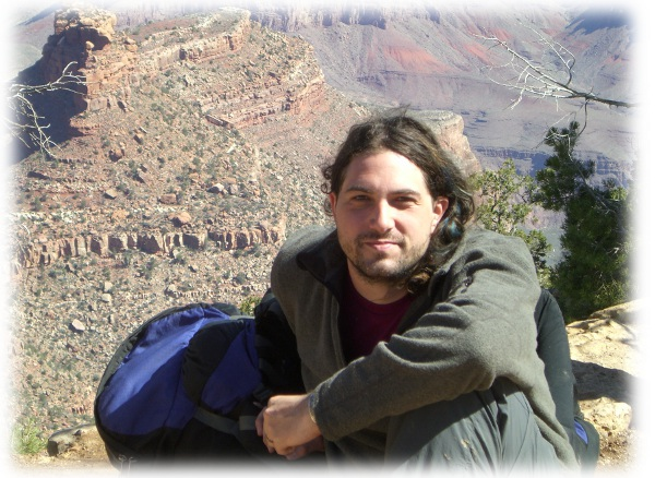 Ian Clysdale at the Grand Canyon
